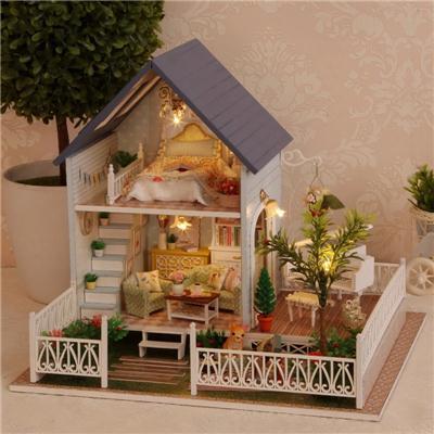 音乐盒diy木质八音盒女生钢琴天空之城精品创意男生日礼物送女孩