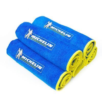 Michelin米其林 洗�毛巾 汽�大�擦�毛巾 加厚加大多功能毛巾