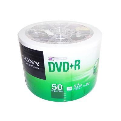 sony索尼原装行货dvd光盘刻录光盘4.7g刻录盘50片空白dvd光盘碟片