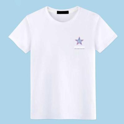【纯棉98%】T恤男短袖大码宽松男装全棉夏2018新款男士青年打底衫