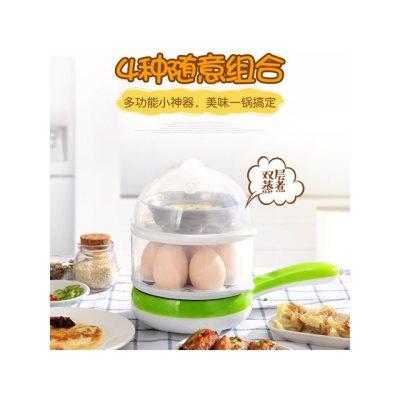【sanxingkeji】PA-620双层煮蛋器多功能迷你电煎锅 煎蛋器早餐机