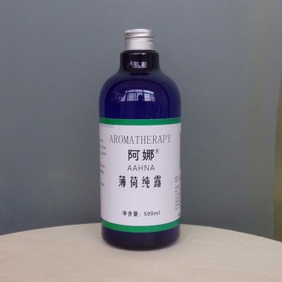 阿娜薄荷纯露500ml饱和花水化妆爽肤水补水控油清凉爽肤 蒸馏提取